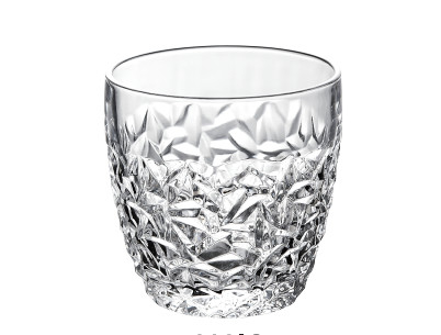Pattern Celebration Wine Glass Cup , Machine Press Bar Whiskey Drinking Glass