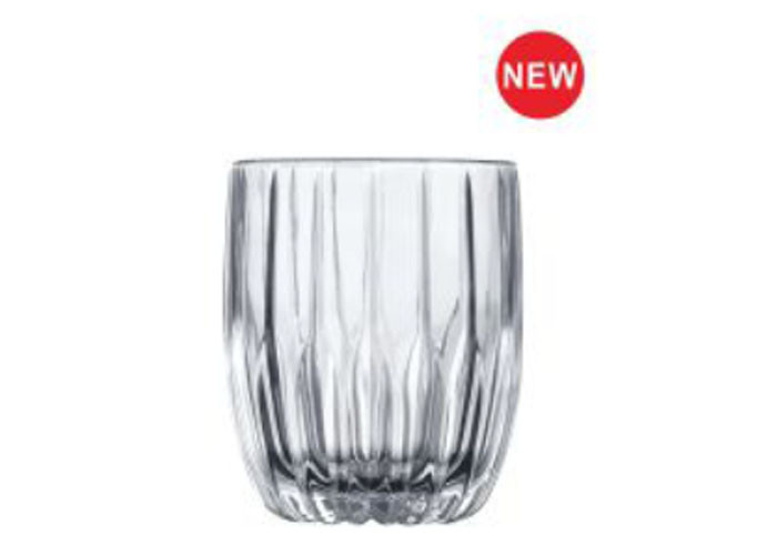 Flower Whiskey Glass Cups , Whiskey Drinking Glass Popular In Bar / Glassware